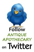 twitter ANTIQUE APOTHECARY
