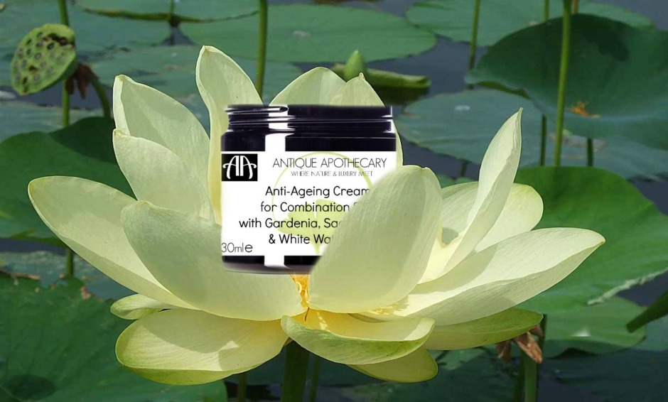 Combination Cream with Gardenia white lotus & white water lily
